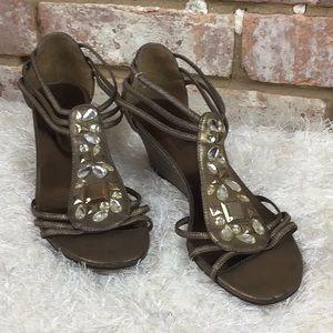 Deep Gold Sandals